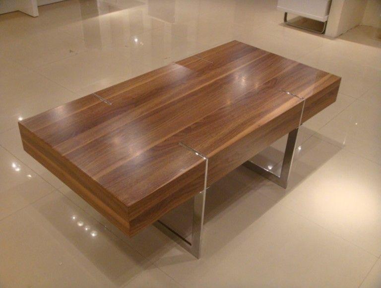 wood veneer coffee table - Google Search