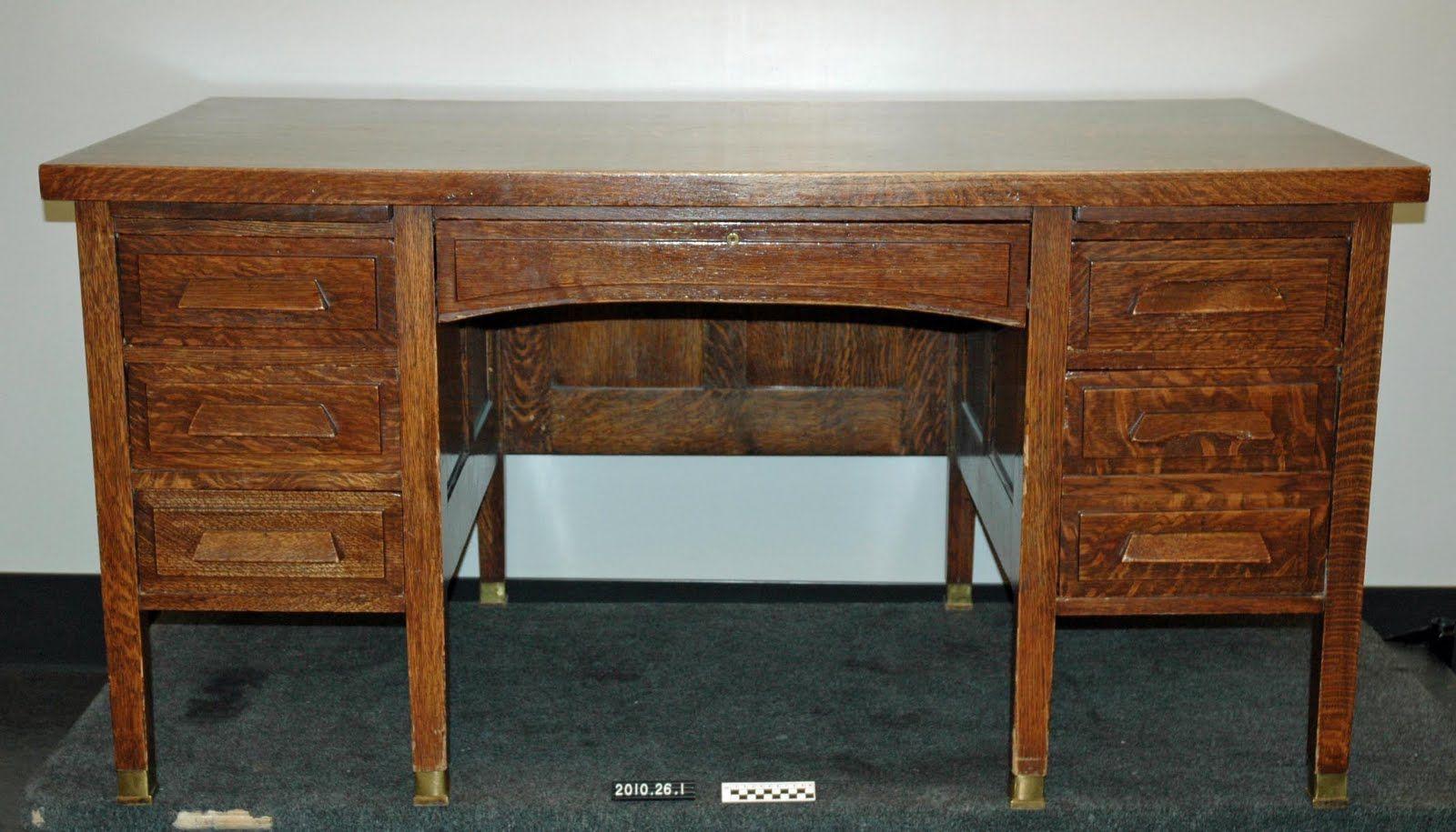 My antique oak teachers desk is going in bedroom