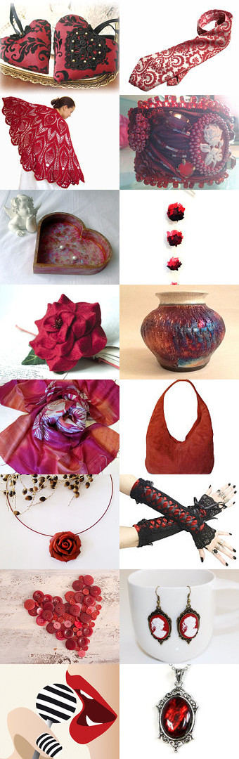 Red Fruits by Laura P. on Etsy--Pinned with TreasuryPin.com