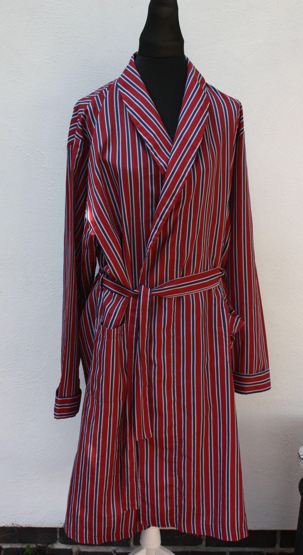 Striped gentlemen\'s robe, 1960\'s Tootal dressing gown, vintage ...