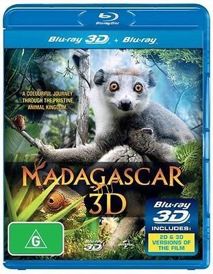 #Madagascar 3d | 3d + 2d #blu-ray - blu ray #region b,  View more on the LINK: http://www.zeppy.io/product/gb/2/152043234778/