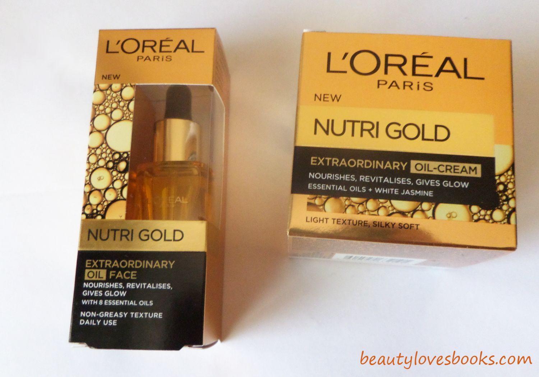 nutri gold extraordinary oil face
