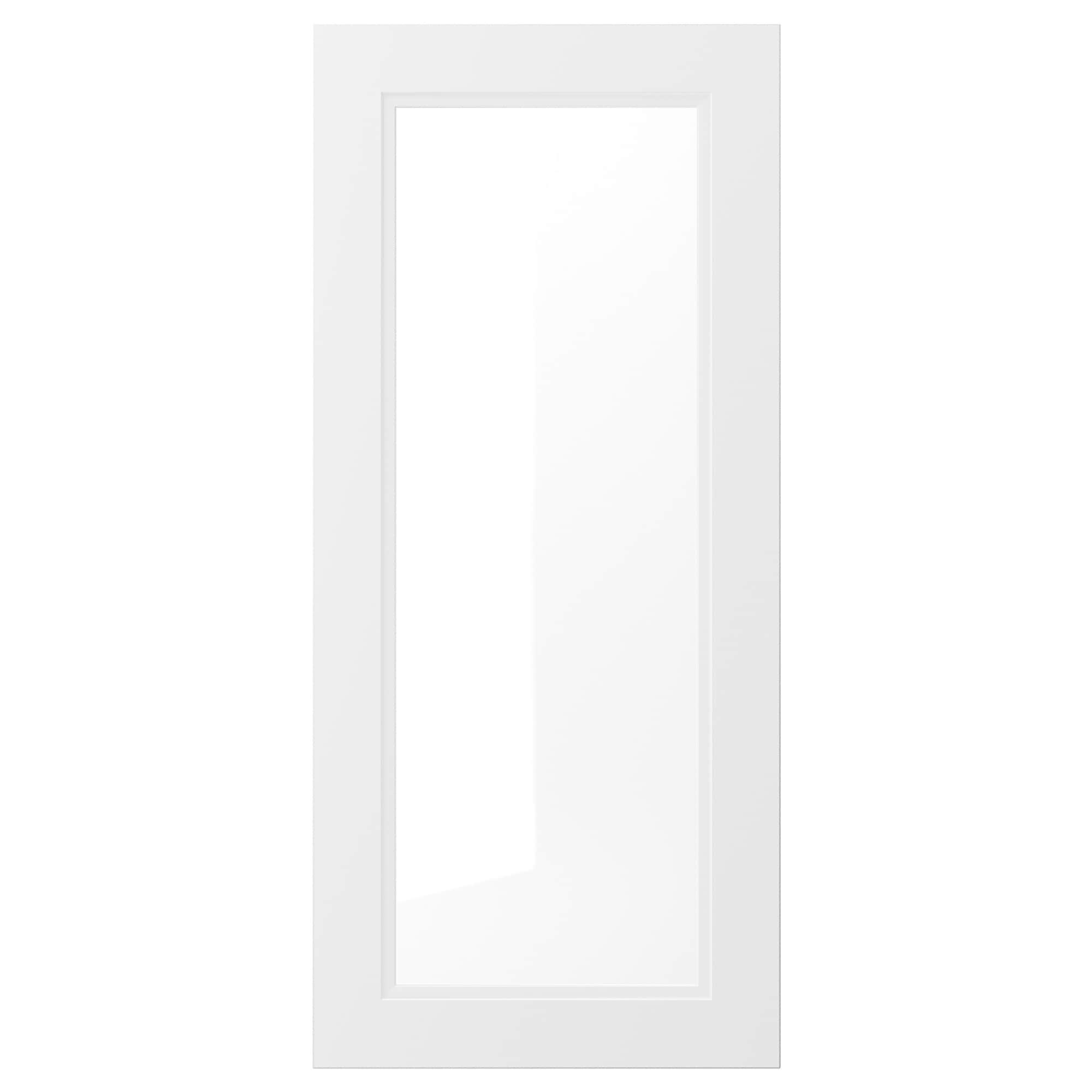 Best Axstad Glass Door Matt White 18X40 46X102 Cm Glass 400 x 300