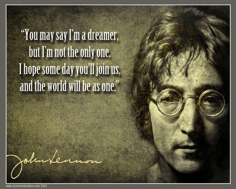 IMAGINE - John Lennon | John lennon quotes, Imagine john lennon, Soundtrack  to my life