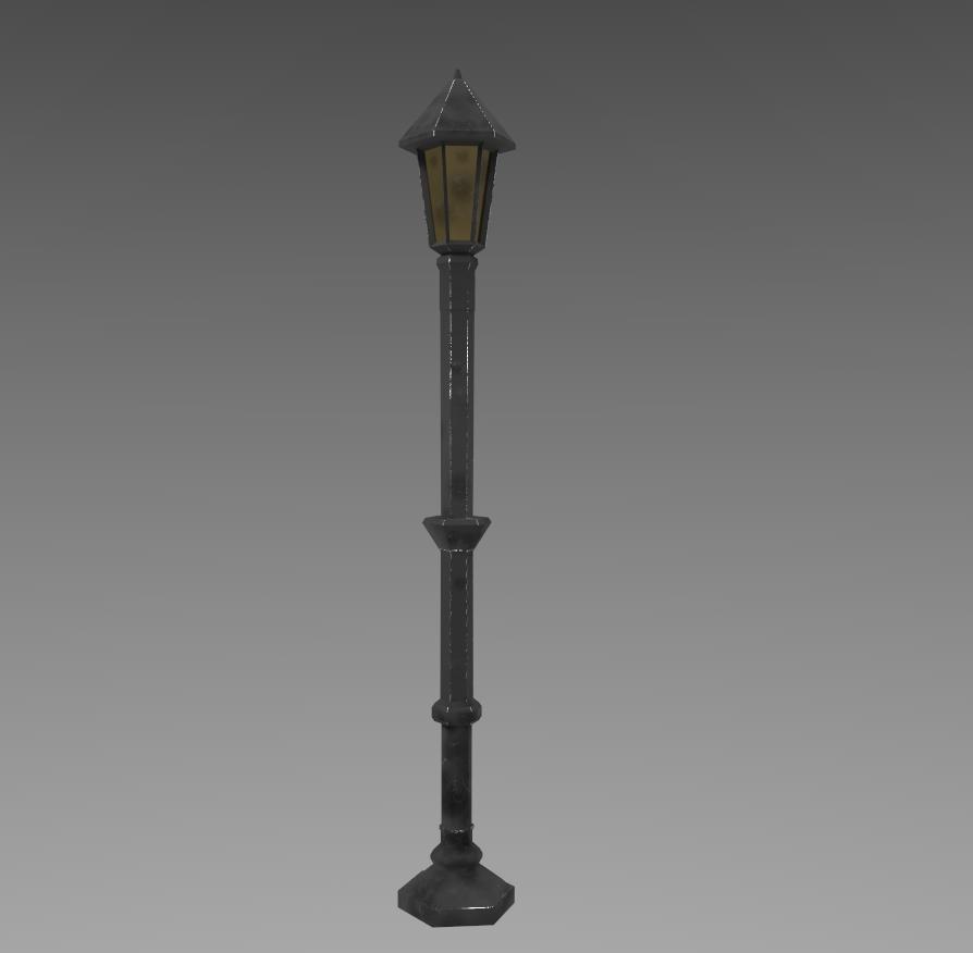 Lamppost 3d Model Ad Lamppost Model In 2020 Lamp Post Logo Design Tutorial 3d Model
