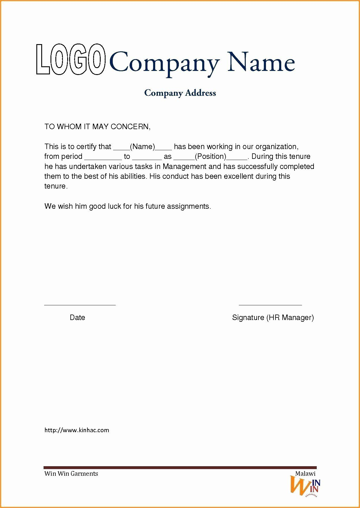 The Best Of Luck In 2020 Certificate Format Work Reference