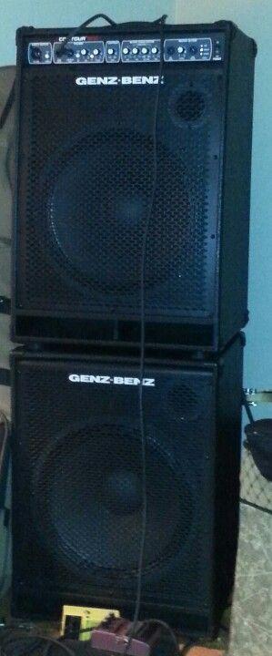 Genz-Benz Contour 500T and Contour 115 Extension Cabinet. | Bass ...