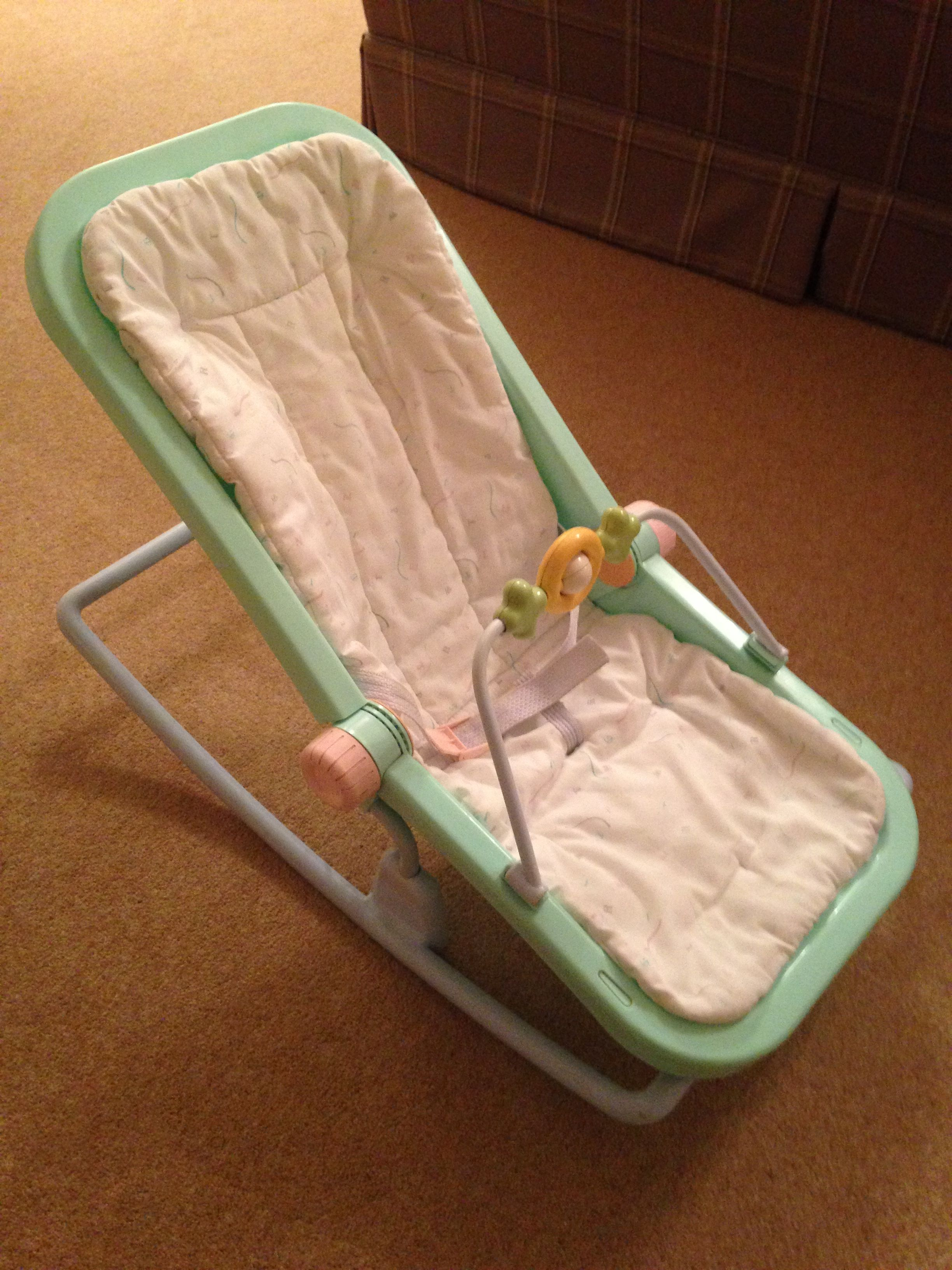 Infant Rocker Carrier 80s Mothercare Rocking Baby Chair Vintage Baby Baby