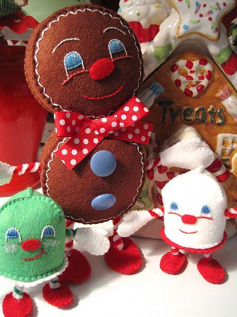 Gingerman, Marshmallowman and Mintman.   Christmas Countdown ...