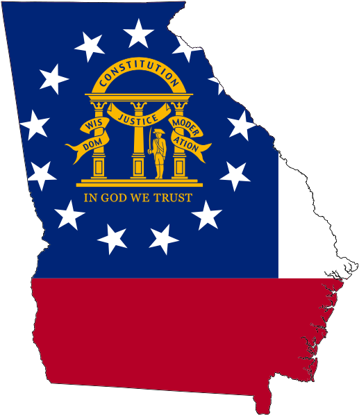 The Georgia Colony Was Founded On February 12 1733 After Years Of Planning And Two Months Crossing The Atlantic James Georgia Flag Georgia Us Georgia Map