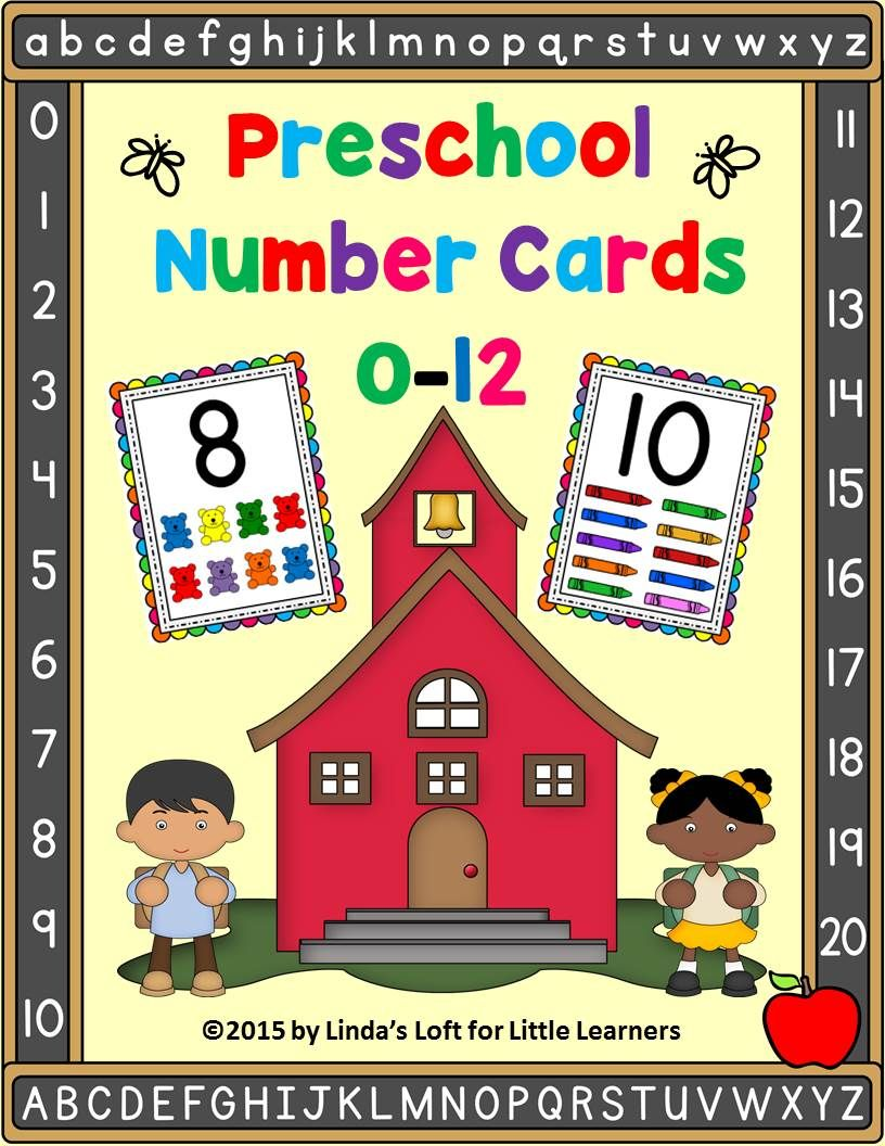 Bulletin Board Number Wall Cards 0 to 20 | Pre-K and Kindy Math ...