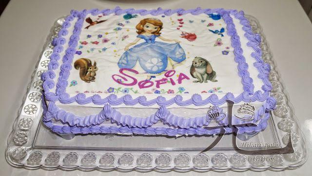 Bolos Decorados Princesa Sofia Bolo De Cupcake Bolo Decorado