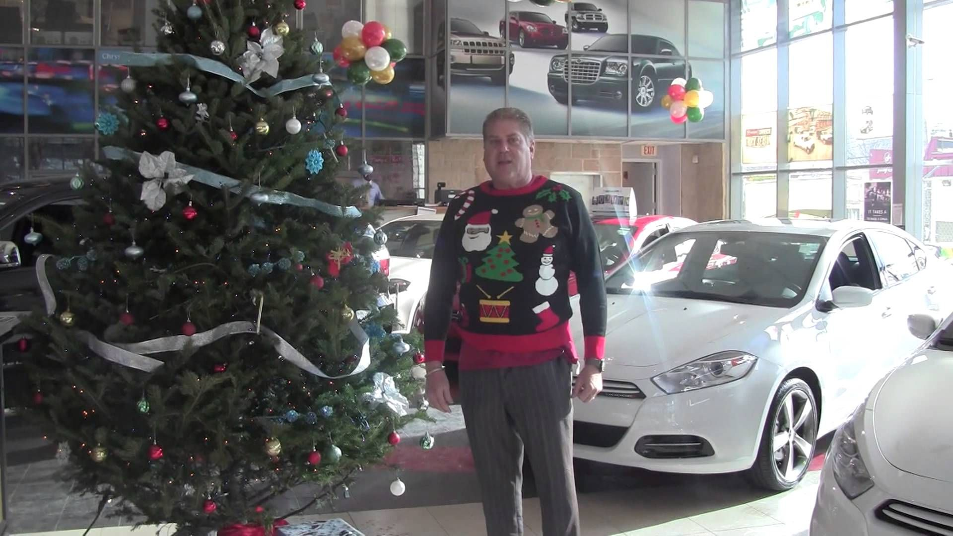 Superb UGLY Sweater Day At Eastchester Chrysler Jeep Dodge