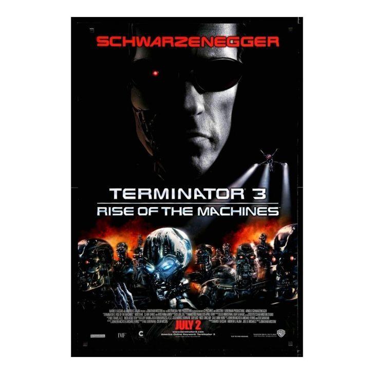 Poster Adesivo Exterminador Do Futuro 3 70x50 Cm Exterminador Do