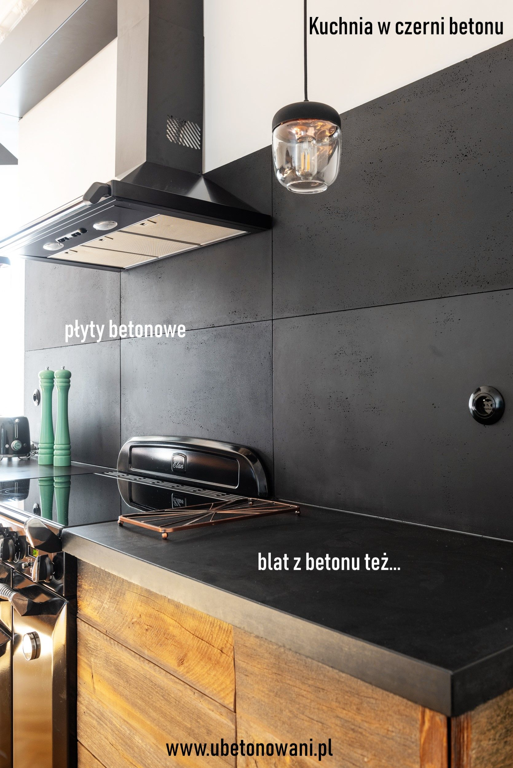 Beton I Drewno Niezwykle Polaczenie Kitchen