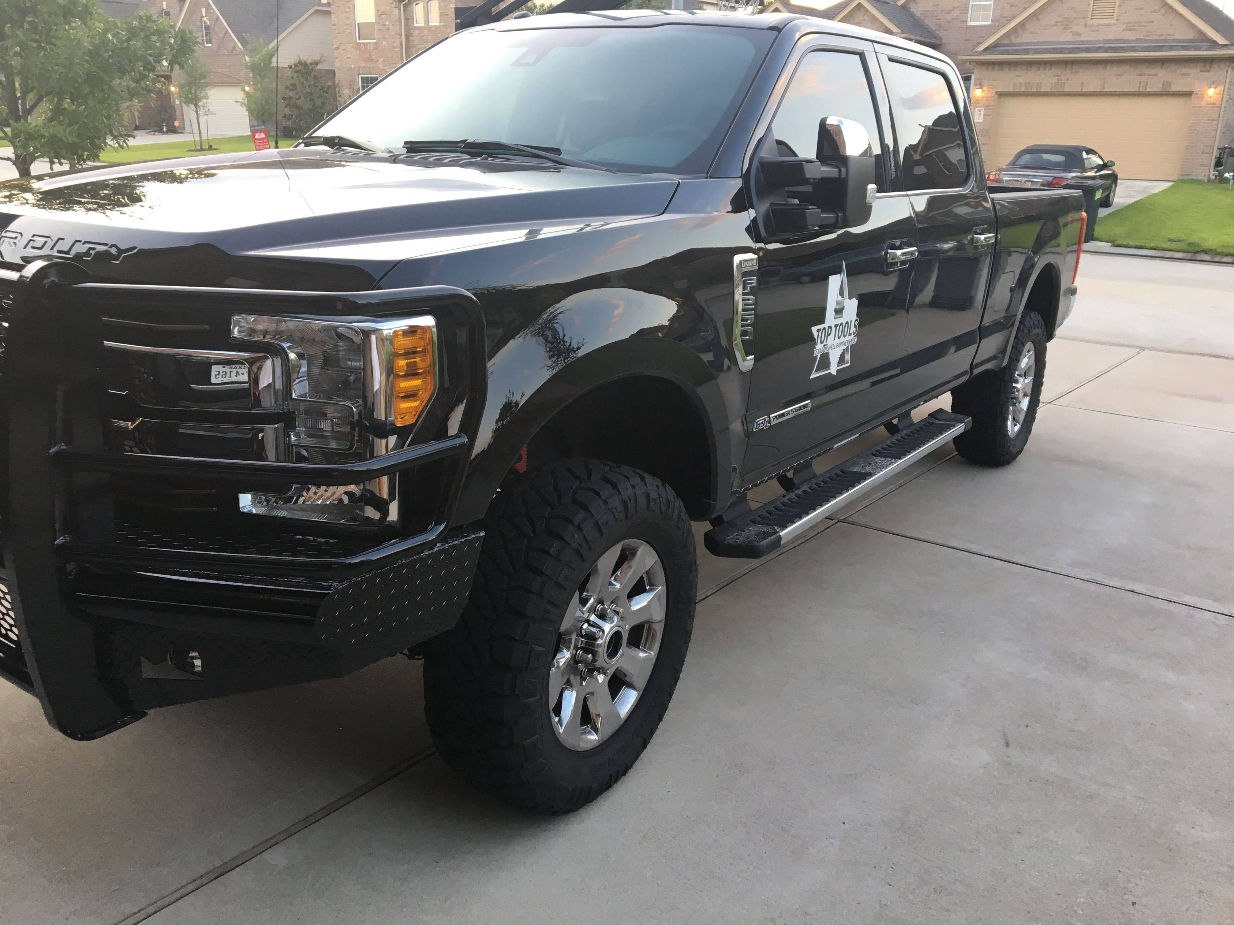 2017 King Ranch Level Kit 35s And Ranch Hand Replacements F250