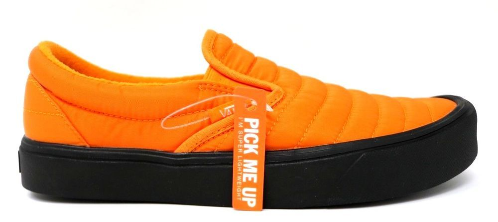 8b374a89266 VANS SLIP-ON LITE Quilted Russed Orange Men 8.0 Women 9.5 Sneakers  VN0A2Z63UD0  fashion