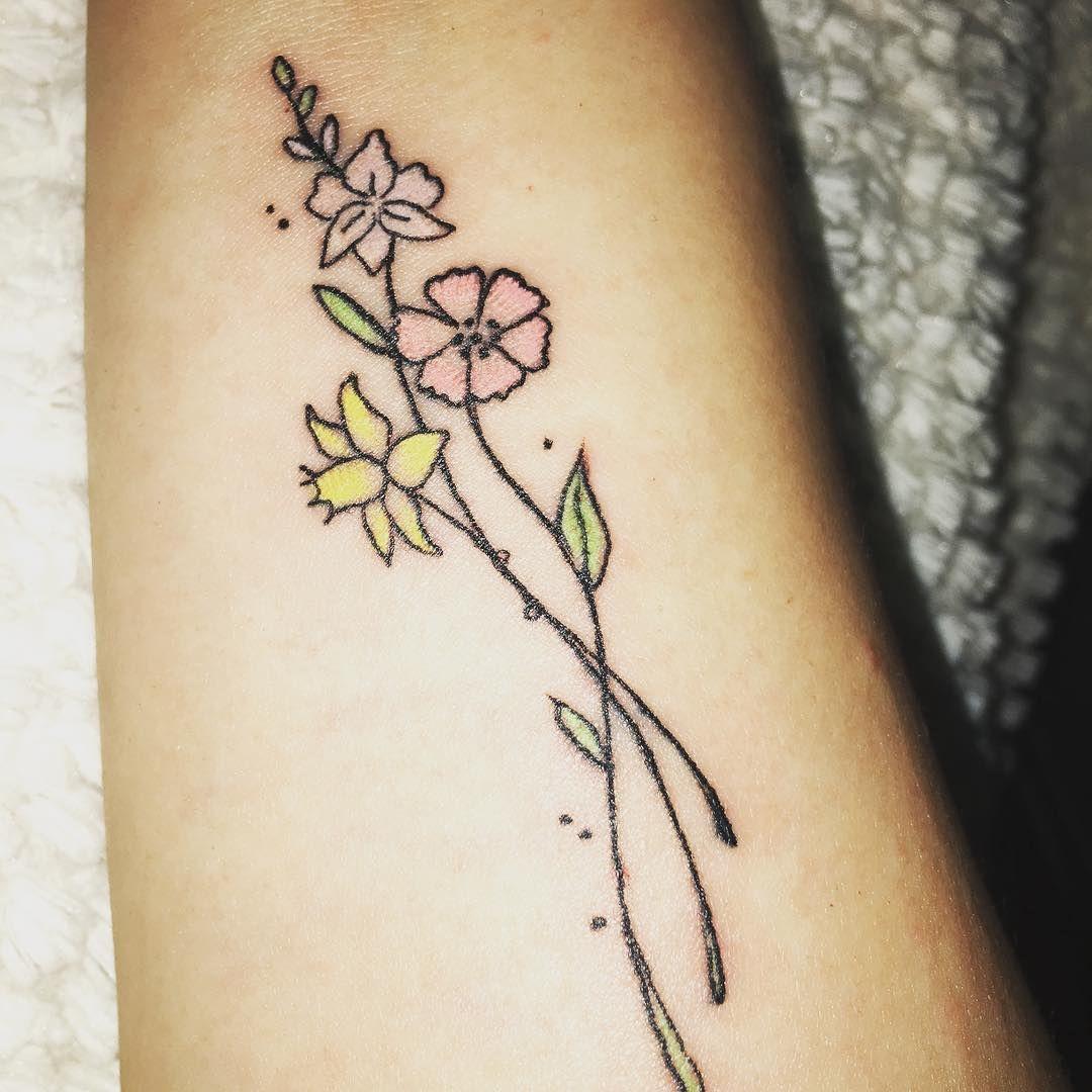 Daffodil Tattoo Ideas POPSUGAR Beauty Daffodil tattoo