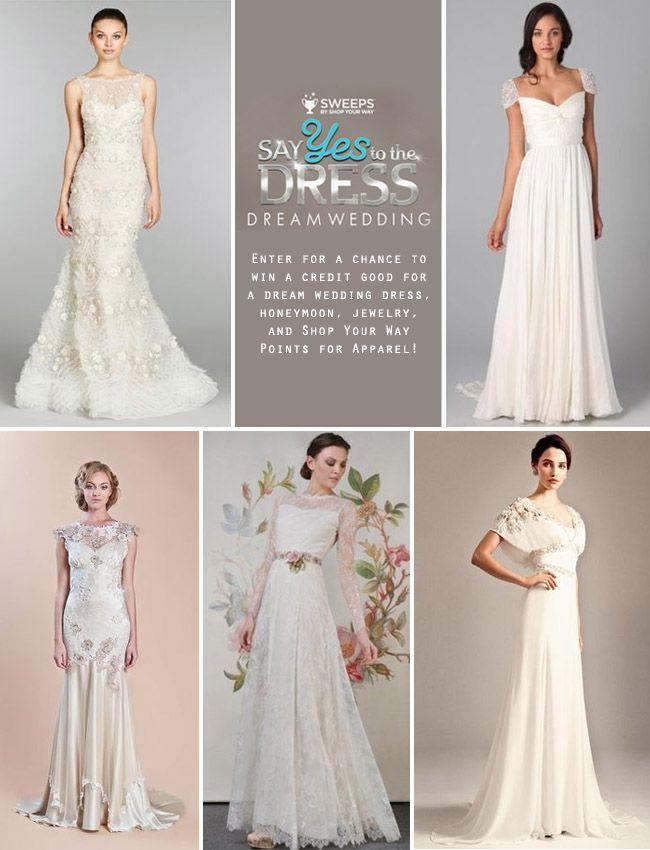 Tendance Robe Du Mariée 2017 2018 Say Yes To The Dress Dream Wedding Sweepstakes
