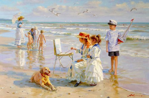 "🌹""Young Artists"" by Alexander Averin"