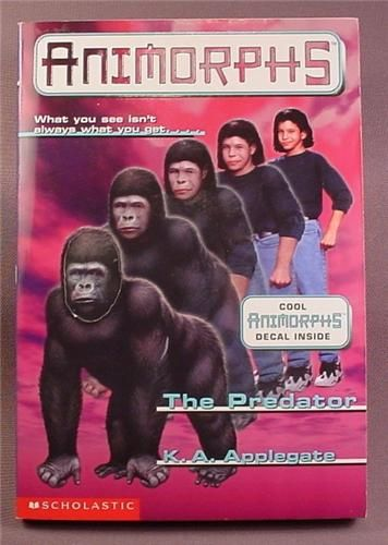 Animorphs The Predator Paperback Chapter Book 5 Scholastic