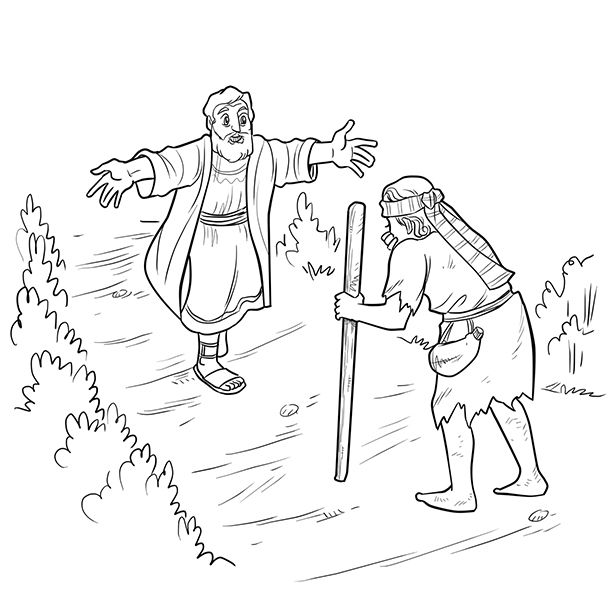 The Prodigal Son Lineart Commission Prodigal Son Bible Coloring