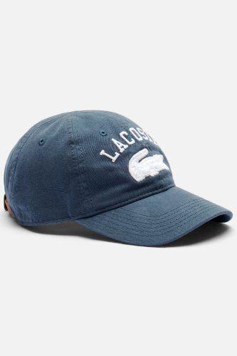 9898263784f0 Lacoste Men s 1927 L Gabardine Cotton Cap   Caps   Hats Lacoste Pour  Hommes, Casquettes
