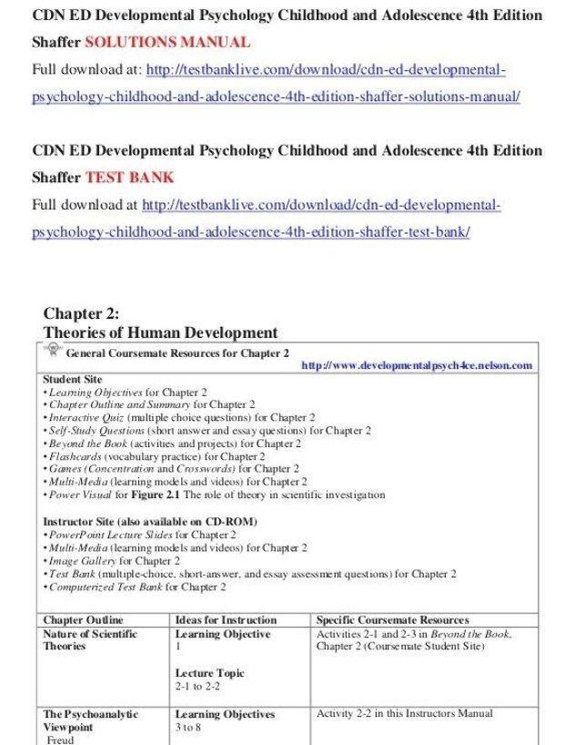 Cdn Ed Developmental Psychology Childhood And Adolescence 4th Edition Gardening Physic Classroom Third Grade Science Essay On Human Development