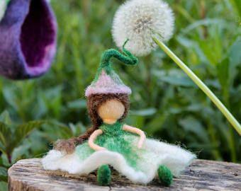 Frühling Geschenk mobile Nadel Gefilzte Art Puppe Home Dekor