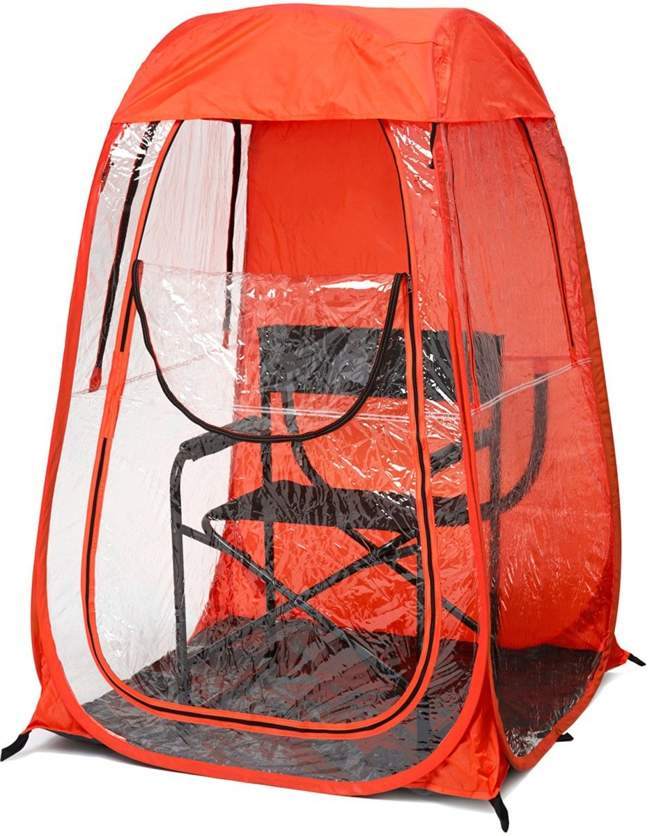 fishing chair rain cover cosco retro counter step stool this one of a kind personal pop up tent is perfect for outdoor sporting events it provides protection from sun wind and snow while you are