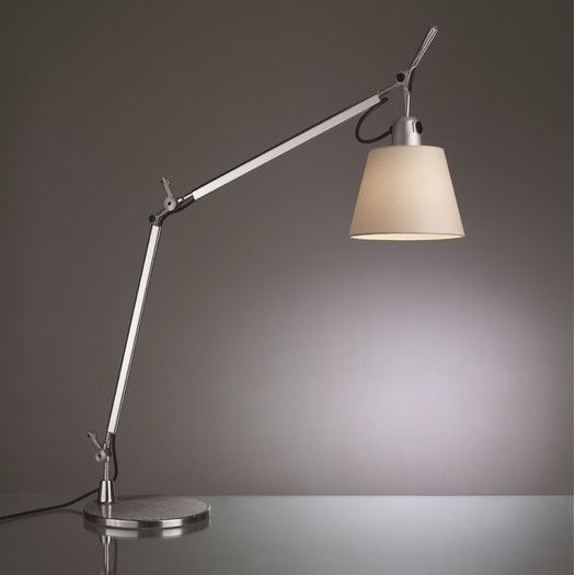 Artemide Tolomeo Classic 37 96 H Table Lamp With Empire Shade Lamp Table Lamp Table Lamp Lighting
