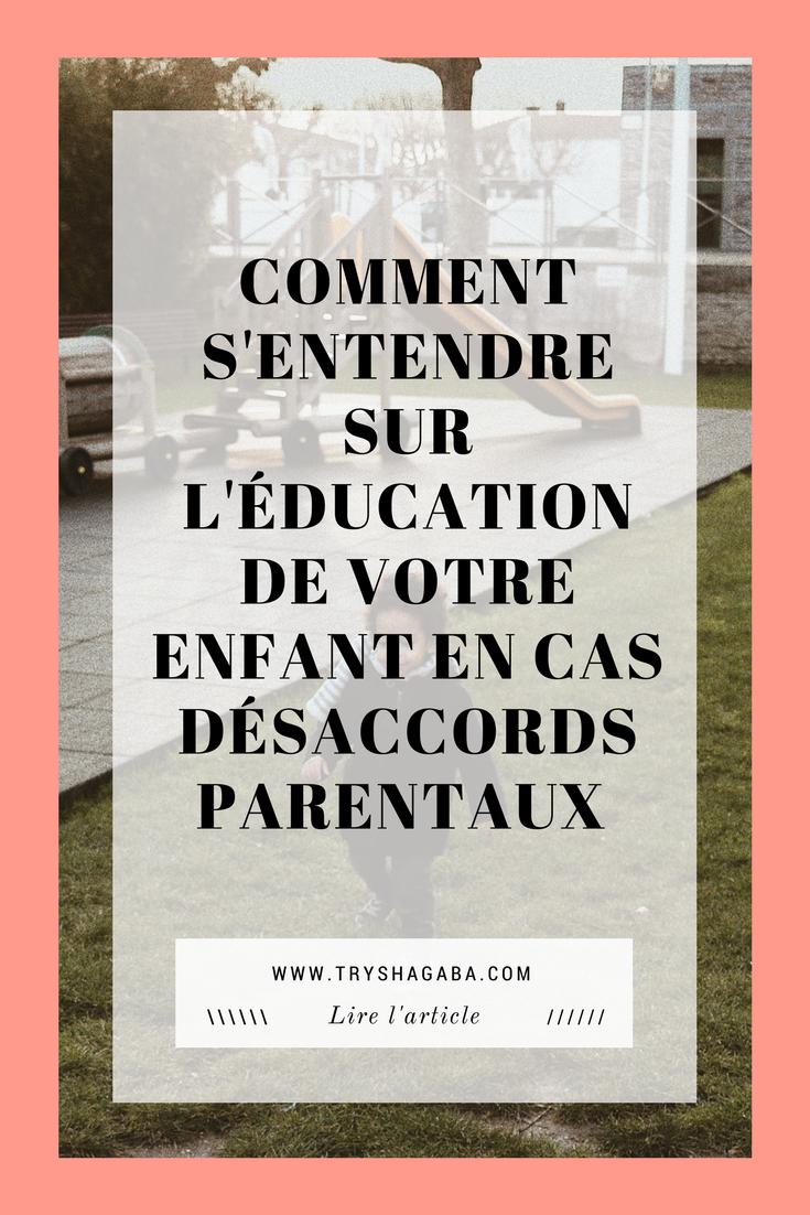 Couple : Comment s'entendre sur l'éducation des enfants en cas désaccords parentaux - TRYSHA GABA