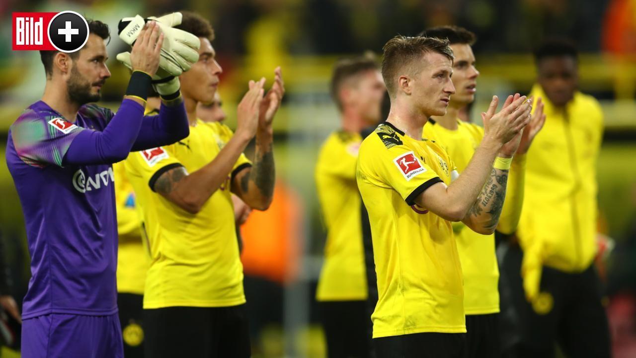 Bvb Das Stort Die Dortmund Stars An Trainer Lucien Favre Bvb Sport Bild Dortmund