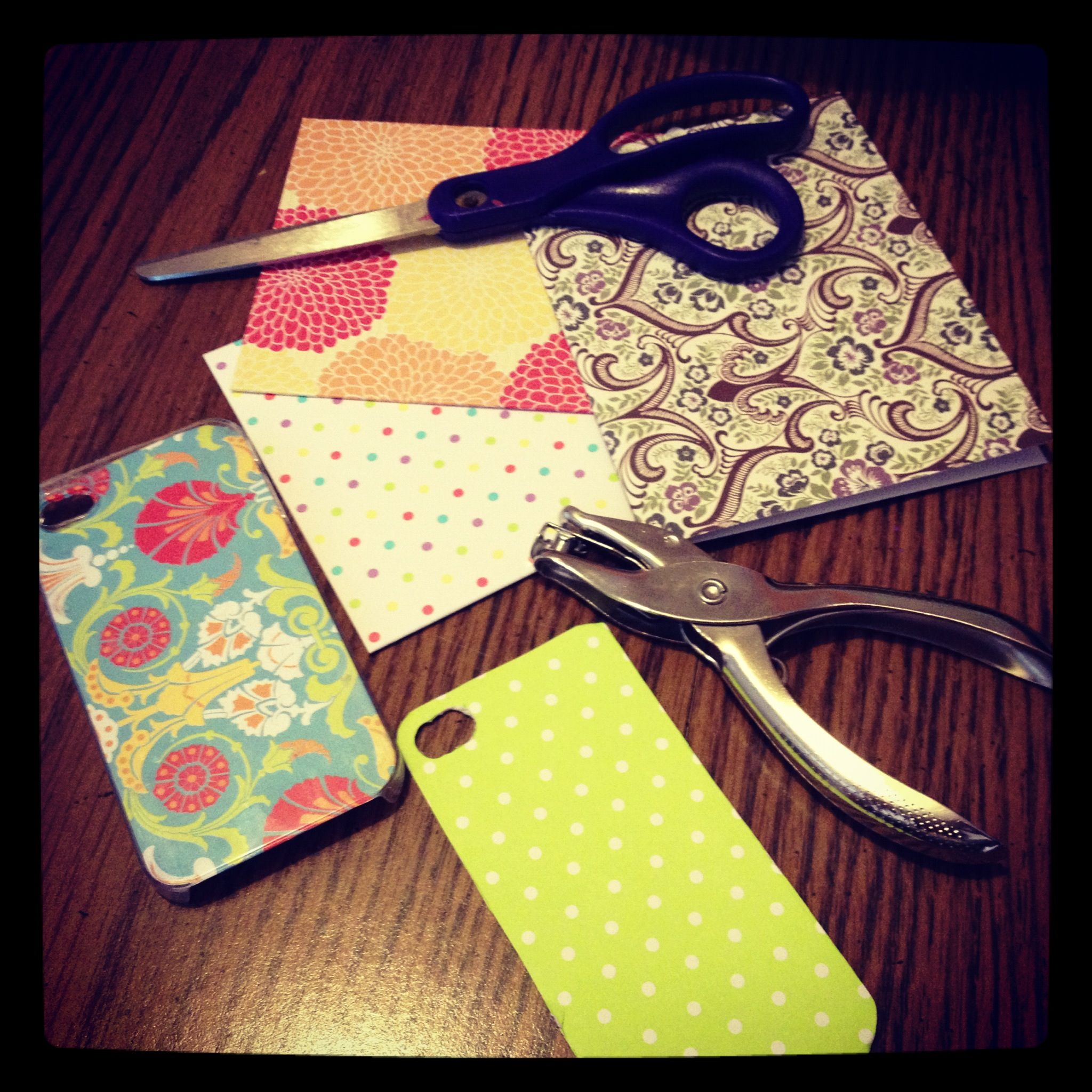 Diy iphone cases for under 5 woohoo ive been busy making