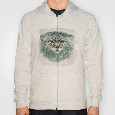 Pallas's cat 862 Hoody by S-Schukina - $42.00