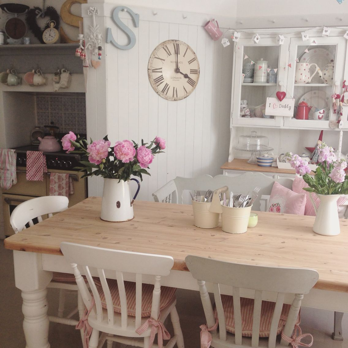 Shabby Chic Kitchen Decor Cabinet Manufacturers My Lily 39s Cottage Pinterest
