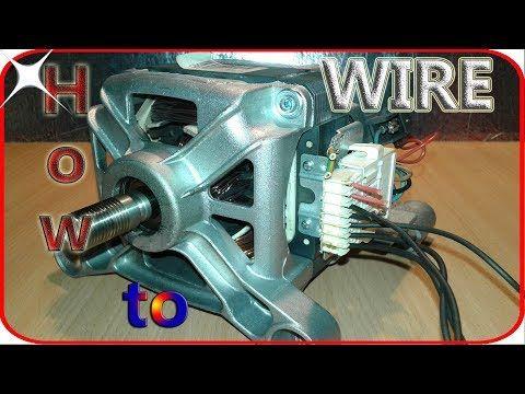 Washing Machine Motor Wiring Basics Washing Machine Motor Wiring Basics Is A Tutorial On How To Wire Washing Machine Motor Old Washing Machine Washing Machine
