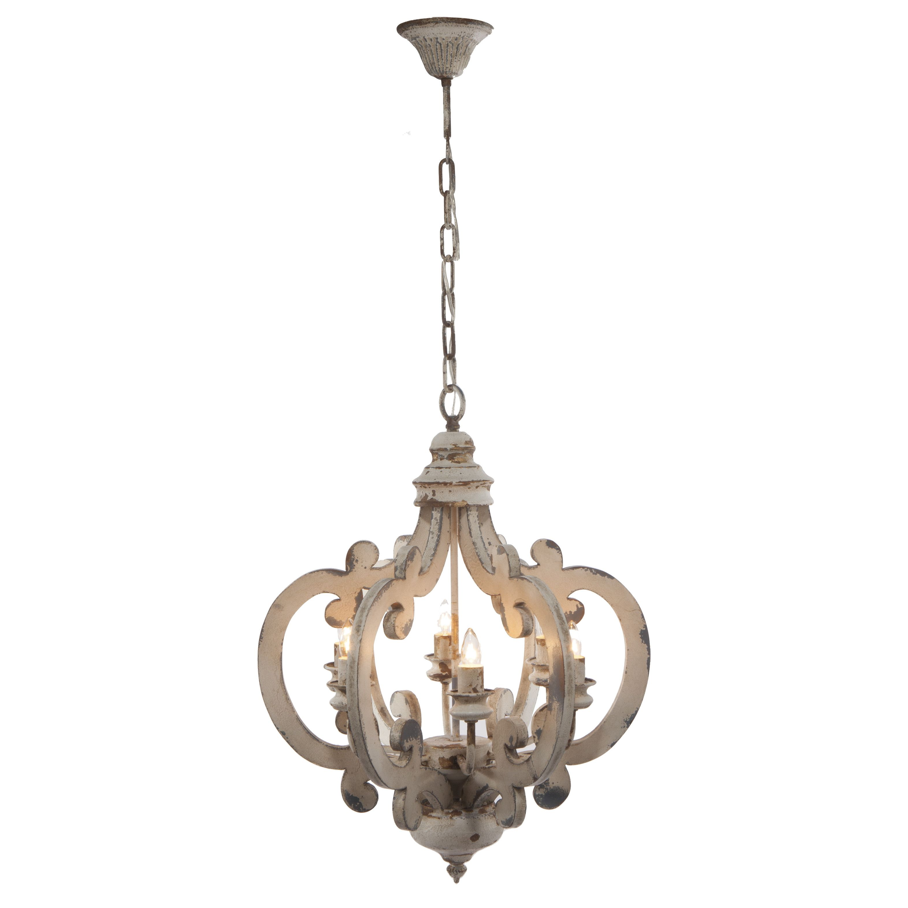 lark manor bullrush 6 light mini chandelier