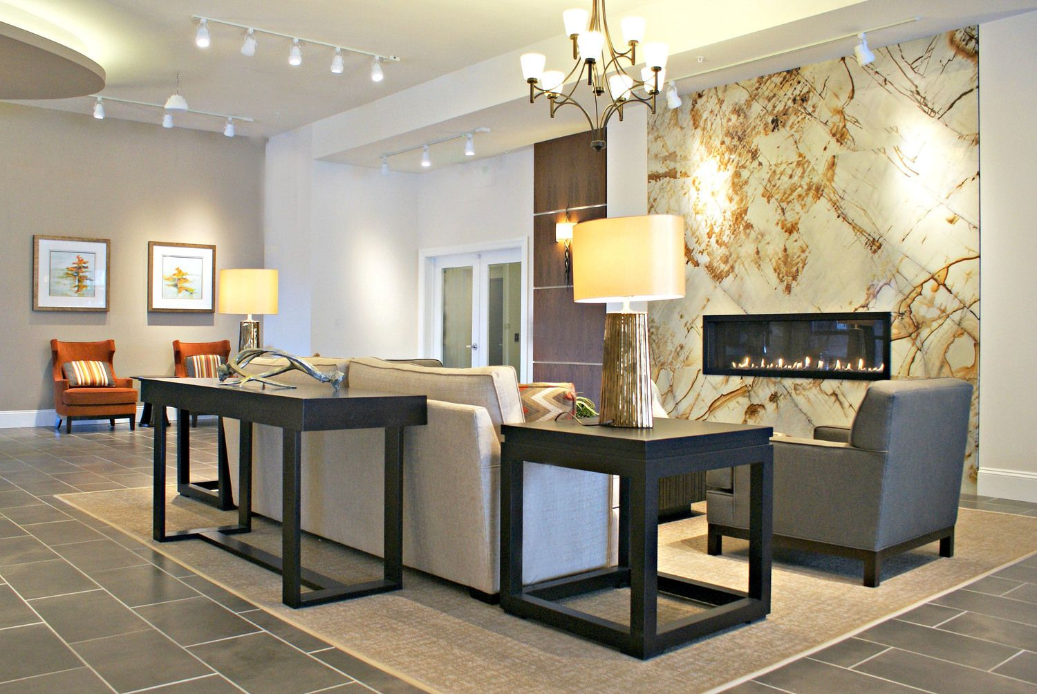Clubhouse and Amenity Space Designs Interior design
