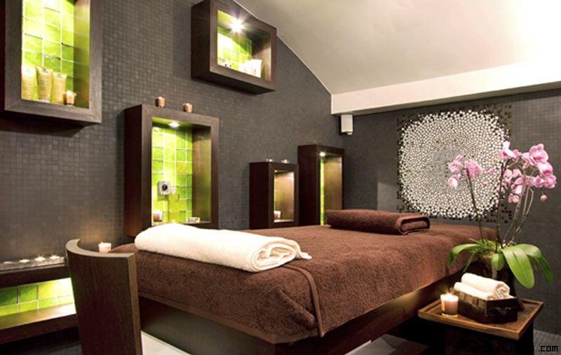 Spa decorado de lujo cabina est tica en 2019 pinterest - Decoracion zen spa ...