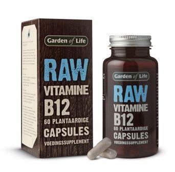 RAW Vitamine B12:  - Geschikt voor vegetariërs en veganisten  - Ondersteunt de aanmaak van rode bloedlichaampjes  - Activeert je natuurijke energie in het lichaam