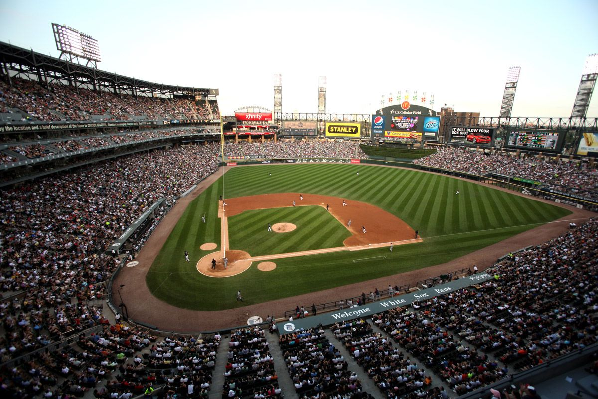 US Cellular Field Chicago IL Baseball Bridgeport - Us cellular community park map