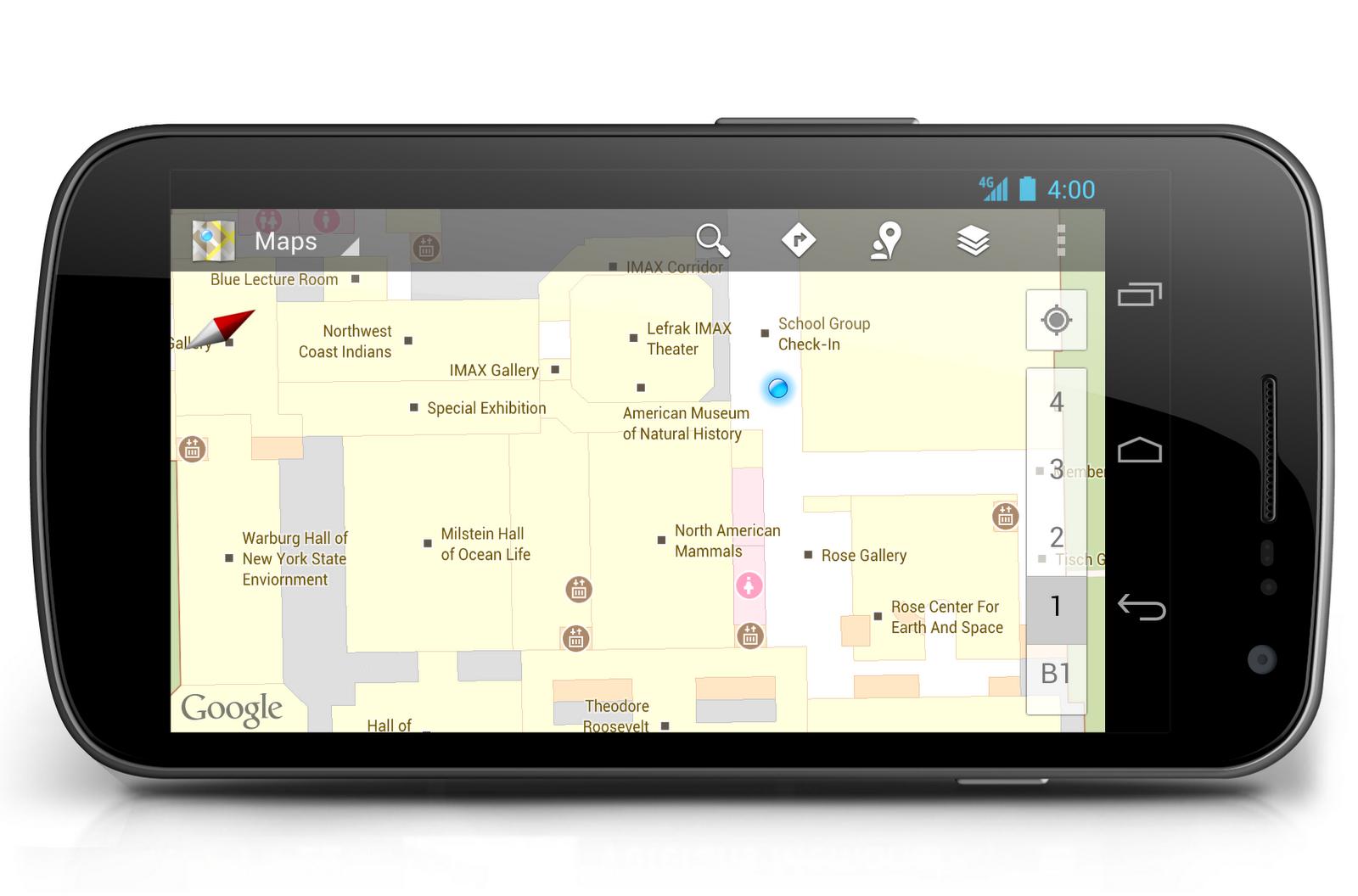 indoor google maps help you make your way through museums  official googleblog. indoor google maps help you make your way through museums
