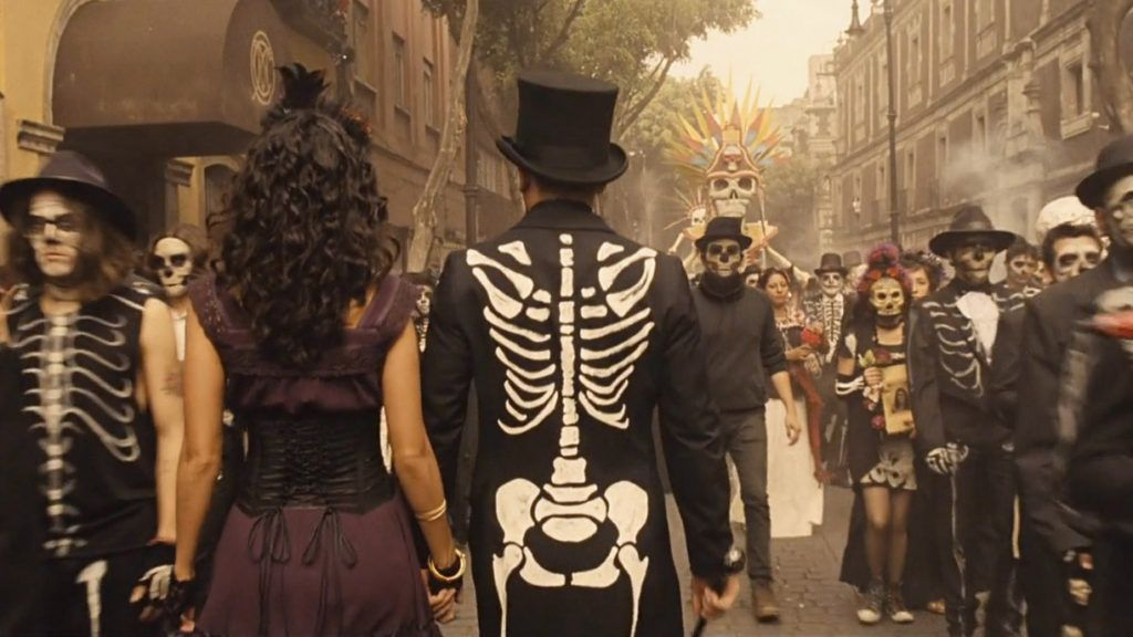 The Day Of The Dead Costume In Spectre The Suits Of Costumes