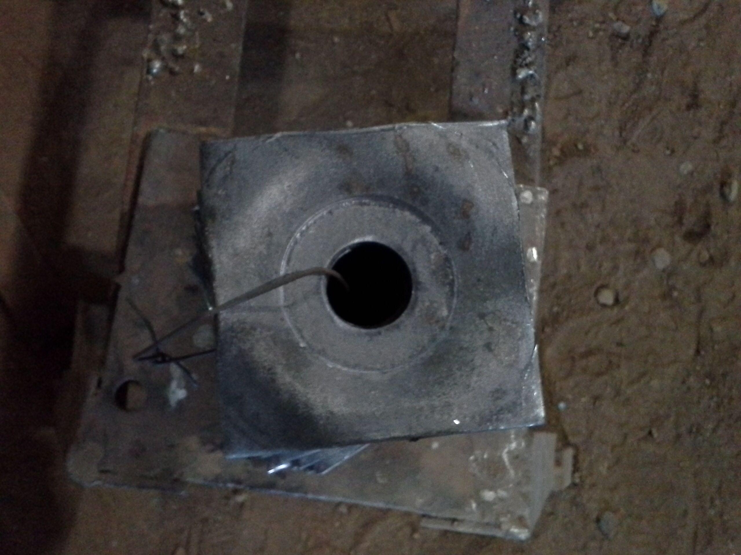 Fabricación de arandela cuadrada con prensa excéntrica de 150 toneladas
