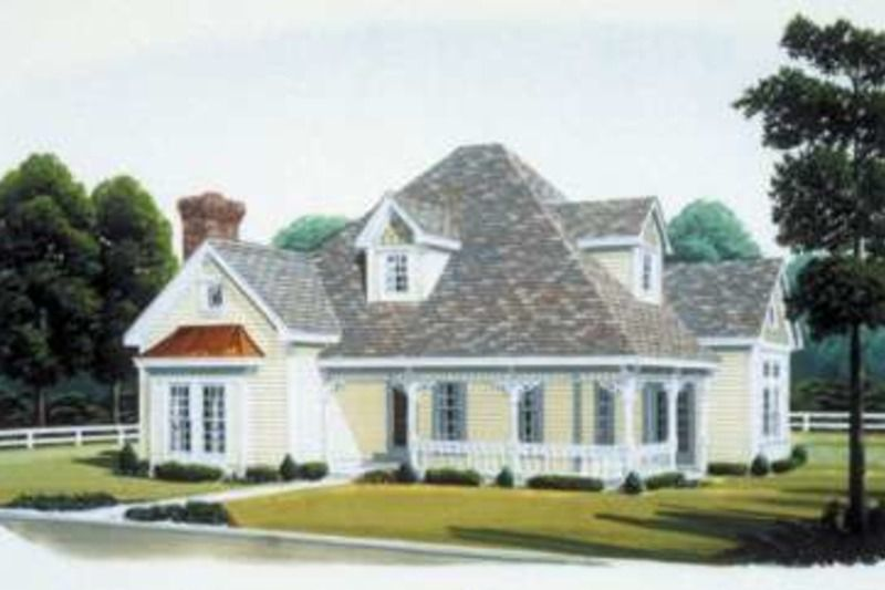 Victorian Style House Plan   3 Beds 3 00 Baths 2282 Sq Ft Plan  410     Houseplans