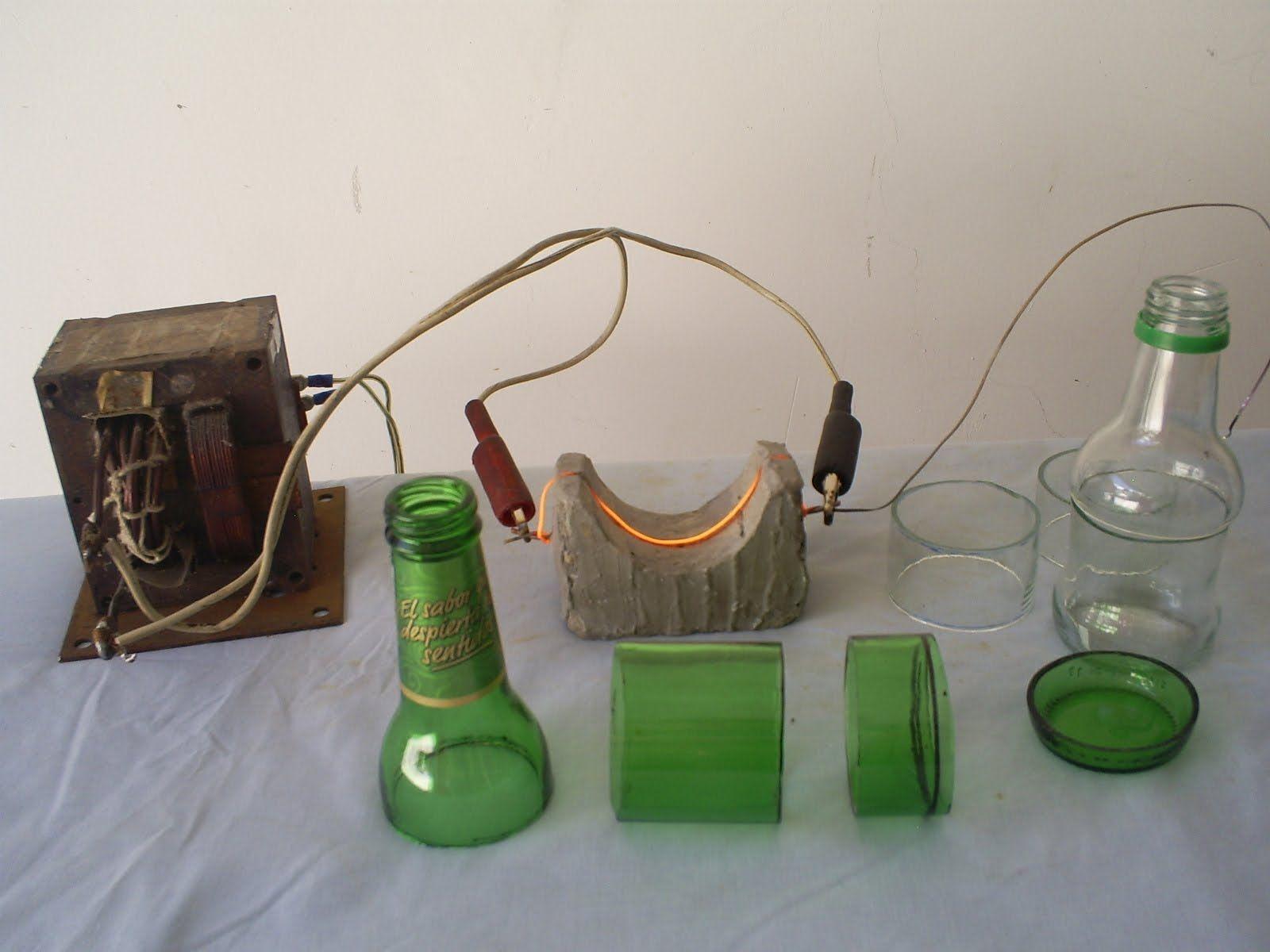Cortador de botellas tutorial m quinas pinterest decoupe verre lustre et d coupages - Decoupe bouteille verre ...