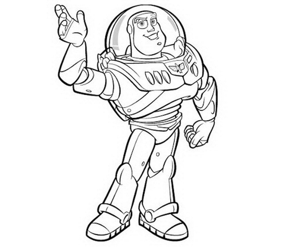 buzz lightyear free coloring pages toy story 353690 coloring
