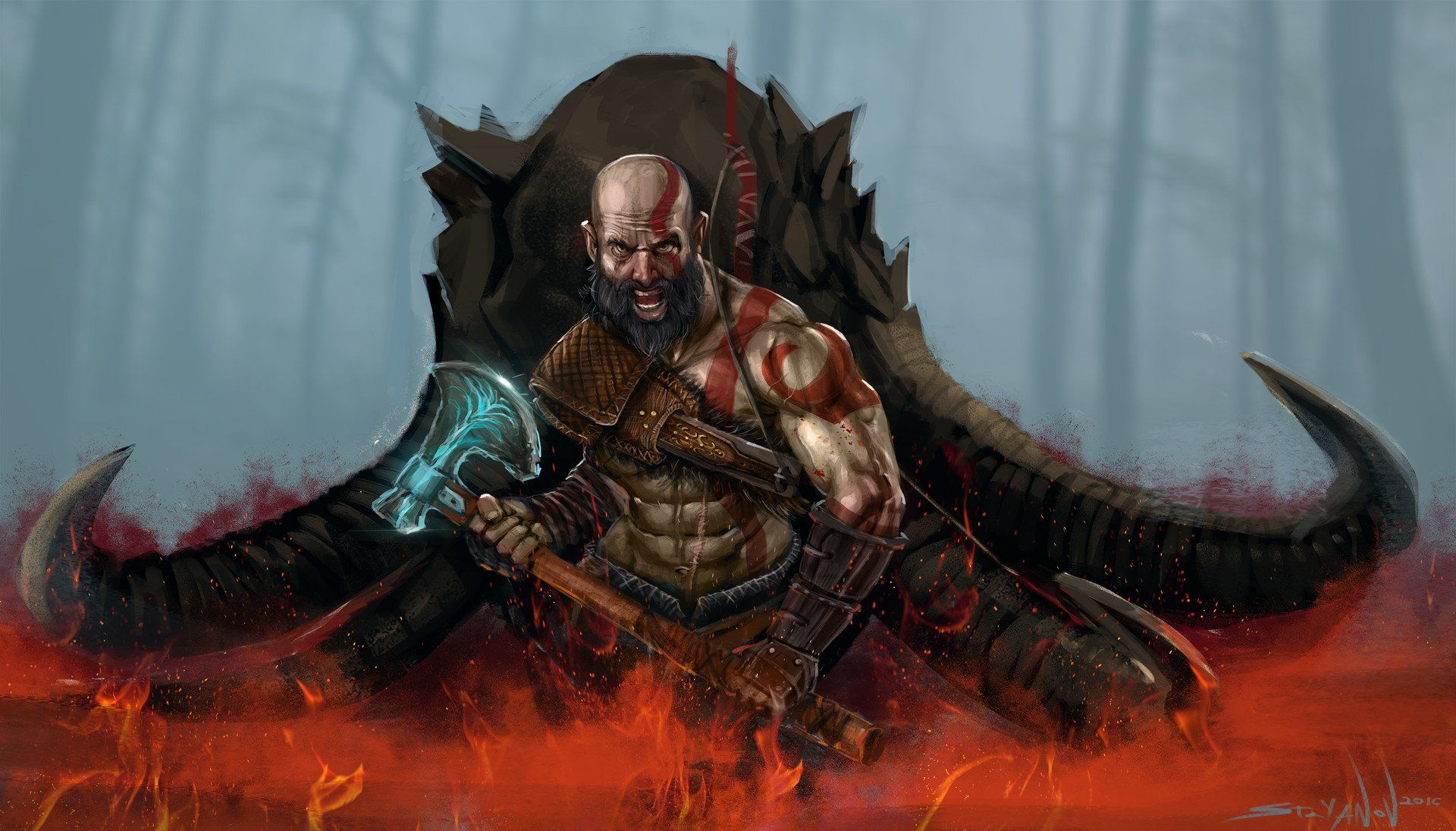 God Of War 2018 Hd Wallpapers God Of War Images Wallpapers In