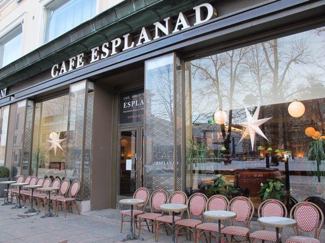 Cafe Esplanad Helsinki Cafe Finland